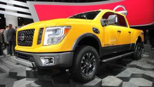 2015北美车展 日产Titan皮卡登场