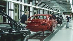 2014款奔驰CLA级/B级 匈牙利工厂探秘
