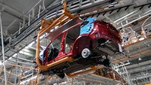 探访奇瑞瑞虎5工厂 现代化生产车间