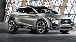 英菲尼迪QX30概念车 紧凑型豪华SUV