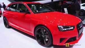 2015款奥迪RS4 Avant 车展内外实拍