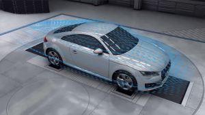 奥迪汽车尖端技术 空气动力学解析