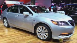 2015款讴歌RLX 定位高端旗舰款车型