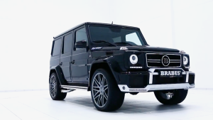 奢侈豪华精湛 超级改装车巴博斯G63