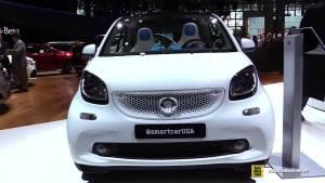2015上海车展 新款smart Fortwo将亮相