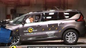 2015款雷诺Espace E-NCAP碰撞测试