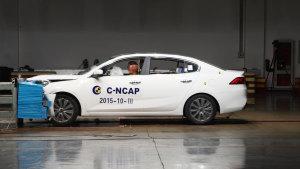 C-NCAP碰撞测试 起亚K4荣获五星