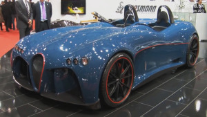 复古奢华超跑 威兹曼Spyder概念车
