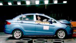 2015款凯翼C3高品质家轿 安全碰撞测试