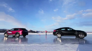 比亚迪唐冰雪测试 挑战途观宝马X6