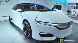 本田FCV氢燃料电池概念车 细节欣赏