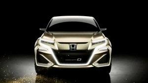 本田CONCEPT D概念车 定位中型SUV