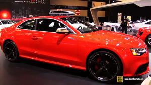 2015款奥迪RS5 Coupé 搭载V8 FSI发动机