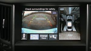新款英菲尼迪Q50S 全景式监控影像系统