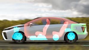 丰田Mirai氢燃料电池车 驾驶性能解析