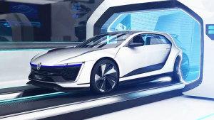 高尔夫GTE Sport概念车 碳纤维材质