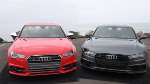 2016款奥迪S6对比S7 外观动力细节比照