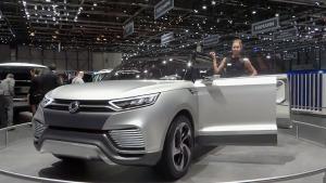 双龙概念车XLV 采用混合动力系统