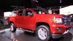 2015款GMC Canyon 标配200马力发动机