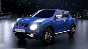 新款日产Juke 多款车身颜色时尚百搭