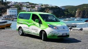 日产e-NV200纯电动版 续航里程170公里