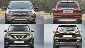 SUV较量 2015款本田CR-V对比日产奇骏