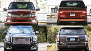 2015款林肯领航员vs GMC Yukon Denali