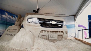 雪佛兰科罗拉多 美式皮卡沙雕造型