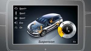 新款奔驰A级 配备动态操控控制系统