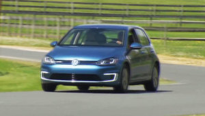 2015款大众E-Golf 采用全电力驱动