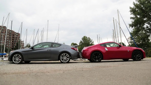2015款日产370Z vs 现代Genesis Coupe