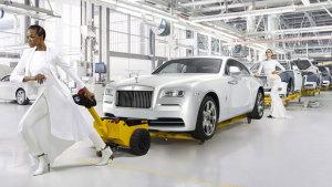 劳斯莱斯汽车工厂 揭秘豪车诞生过程