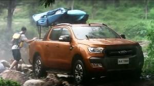 2016款福特Ranger皮卡 安全配置提升