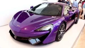 迈凯伦570S限量版 采用蓝紫色涂装
