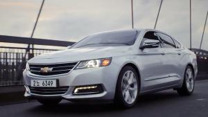 2015款雪佛兰Impala 采用双燃料驱动