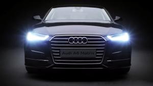 全新奥迪A6 矩阵式LED大灯详解