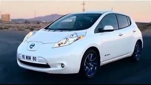 日产聆风纯电动车 适合家用节能环保