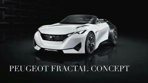 2015法兰克福车展 标致Fractal概念车