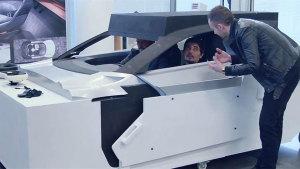标致Fractal概念车 设计灵感来源于声音