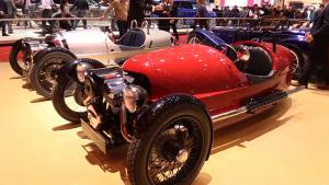 2015款摩根3-Wheeler 百公里加速仅6秒