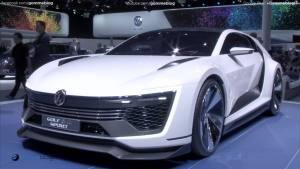 2015法兰克福车展 高尔夫GTE Sport亮相