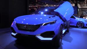 2015法兰克福车展 标致Quartz概念车