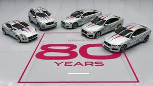 捷豹家族齐聚庆80周年 全铝质车身结构