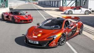 三款超跑赛道圈速对决 迈凯伦P1夺冠