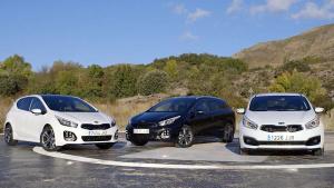 2016款起亚Cee'd 提供多款车型选择