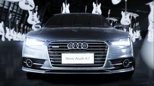 全新奥迪A7 以简洁设计前瞻未来