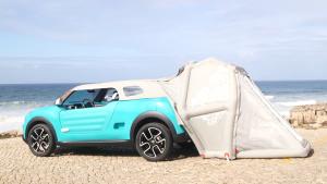 雪铁龙Cactus M 搭帐篷就是这么简单