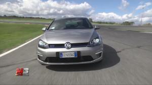 全新高尔夫GTE赛道展示 最大功率150kW