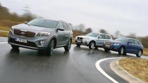 时尚SUV评测 宝马X3对比索兰托奥迪Q5