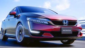 本田Clarity燃料电池车 家族式前脸设计